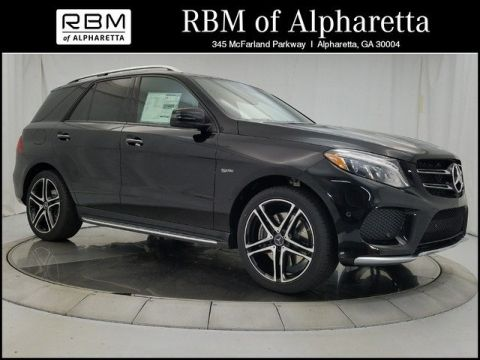 New 2018 Mercedes-Benz GLE 43 AMG® SUV SUV 4MATIC®