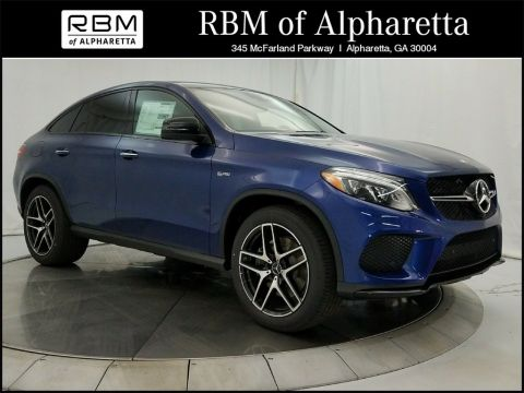 New 2018 Mercedes-Benz AMG® GLE 43 Sport Utility 4MATIC®