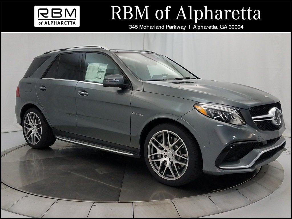 New 2018 mercedes benz gle 63 amg suv suv in alpharetta for Rbm mercedes benz