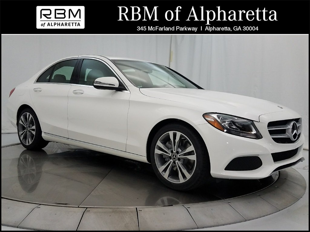 New 2018 mercedes benz c 300 sedan in alpharetta m66262 for Rbm mercedes benz