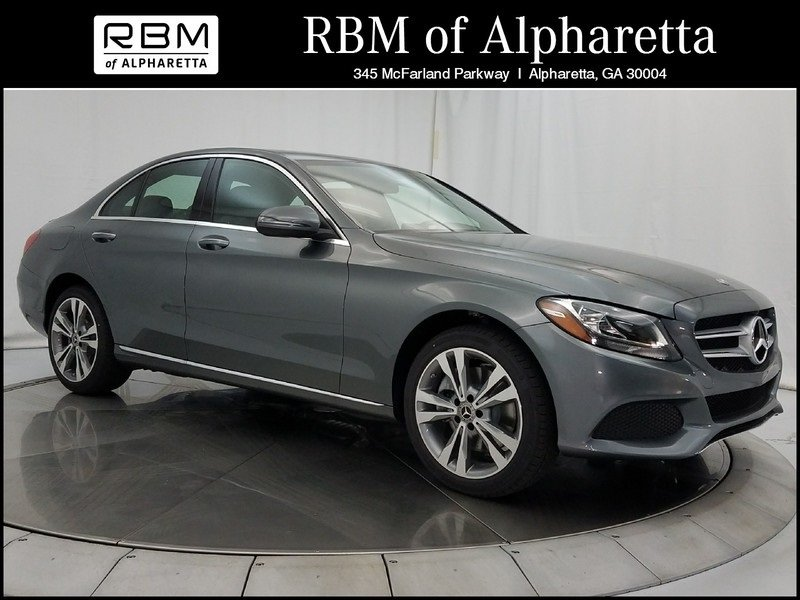 New 2018 mercedes benz c 300 sedan in alpharetta m66195 for Rbm mercedes benz