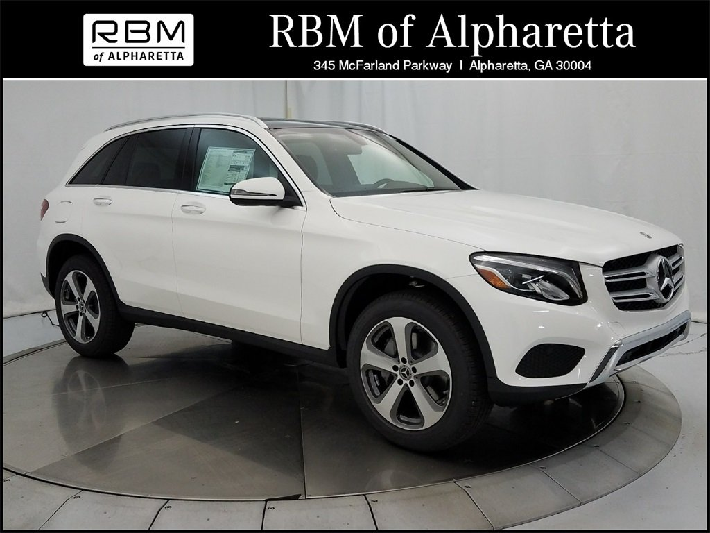 New 2018 mercedes benz glc 300 suv in alpharetta k19648 for Rbm mercedes benz