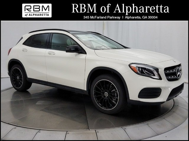 New 2018 mercedes benz gla 250 sport utility in alpharetta for Mercedes benz rbm